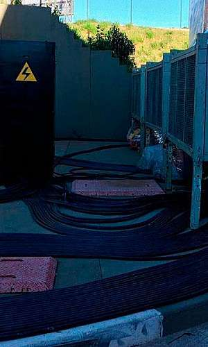 Aluguel de cabos elétricos