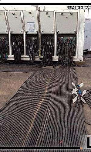 Aluguel de cabos para geradores