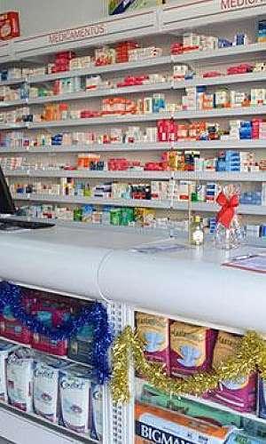 Balcão de atendimento farmácia