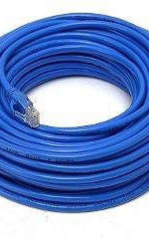Cabos de rede azul