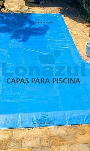 Capa de proteção de tela para piscina