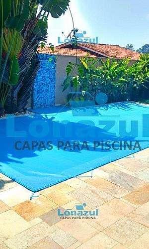 Capa de proteção para piscina de tela