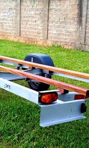 carreta para barco de 5 metros
