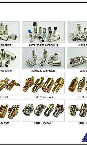 Conector cabo coaxial