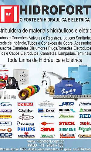Distribuidora de cabos e plugs