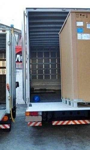 Rampa móvel para caminhão