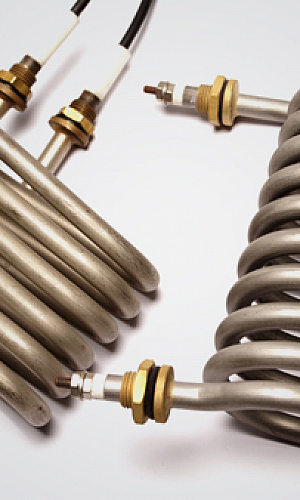 Resistência elétrica tipo espiral