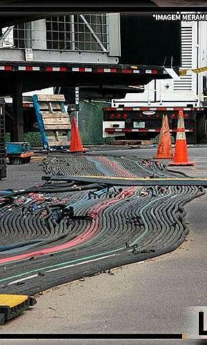 serviços de locação de cabos elétricos