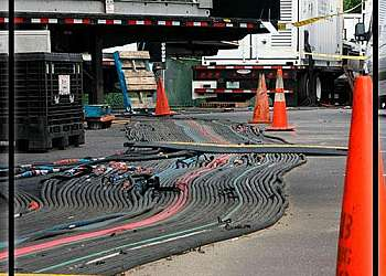 Prestação de serviços de locação de cabos elétricos